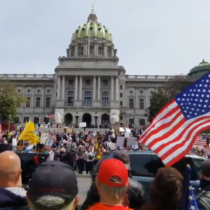 State Rep: 'Thought I'd Never See in My Lifetime' Citizens Protesting to Work