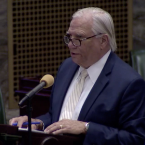 Del Valley Senators Toe Party Line in COVID-19 Disaster Declaration Vote