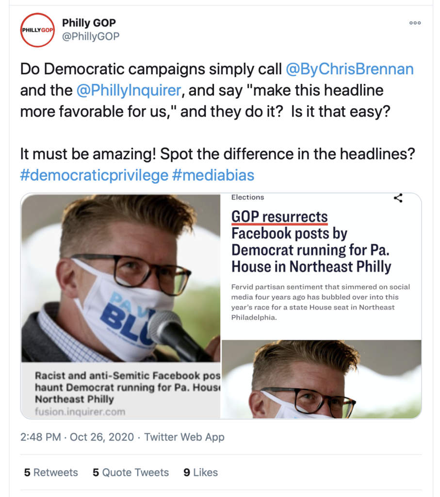 Inquirer Pulls Hard-Hitting Headline on Story About Philly Dem's Use of N-Word (delawarevalleyjournal.com)