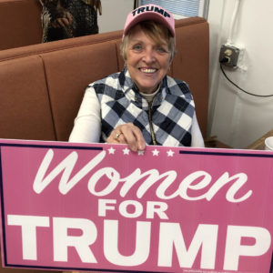 As Trump Struggles in Suburbs, Some DV Women Stand By Their Man