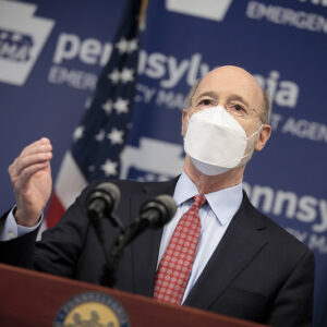 Gov. Wolf: COVID-19 Restrictions To Be Lifted, But Masks Will Stay