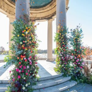 Philadelphia Flower Show Blooms After Dark, COVID Year