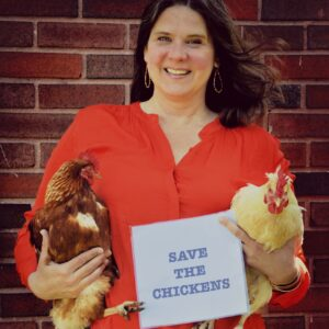 """Save the Chickens: Pottstown Borough's """"Chicken Lady"""" Hopes for Change"""
