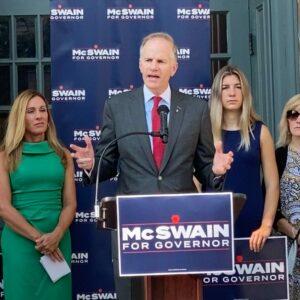 'I'll Get Government Off Your Back:' McSwain Enters GOP Gov's Race